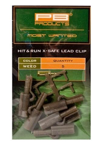 PB Products Hit&Run Leadclip weed | CarpDoctor Leads