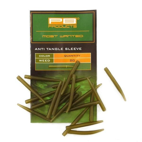 PB Products Anti Tangle Sleeves Weed - növényzet színű szilikon hüvely   CarpDoctor Leads
