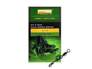 17069-PB-Products-Flexi-Ring-Swivel-gyorskapocs | CarpDoctor Leads