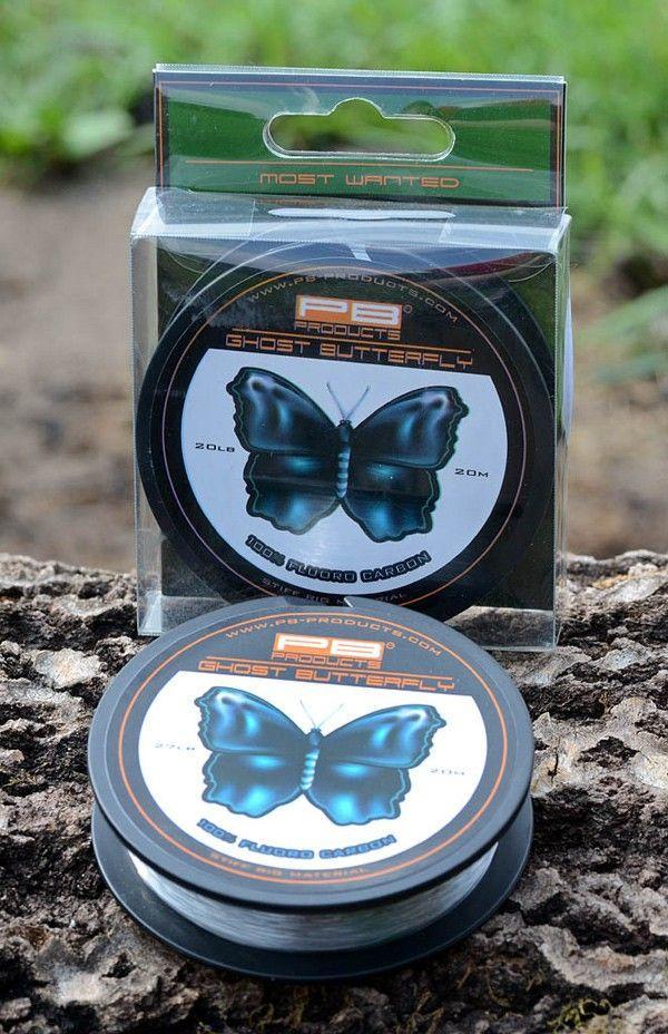 PB Products Ghost Butterfly 20LB - fluorocarbon előkezsinór   CarpDoctor Leads