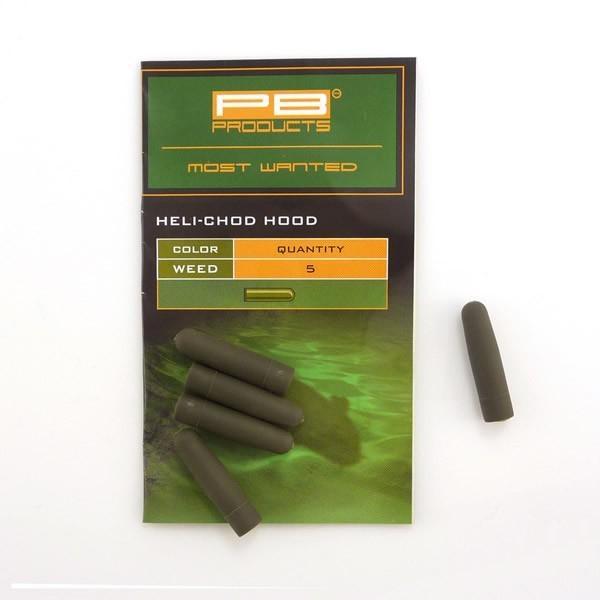 PB Products Heli-Chod Hoods Weed - növényzet színű gumi ütköző | CarpDoctor Leads