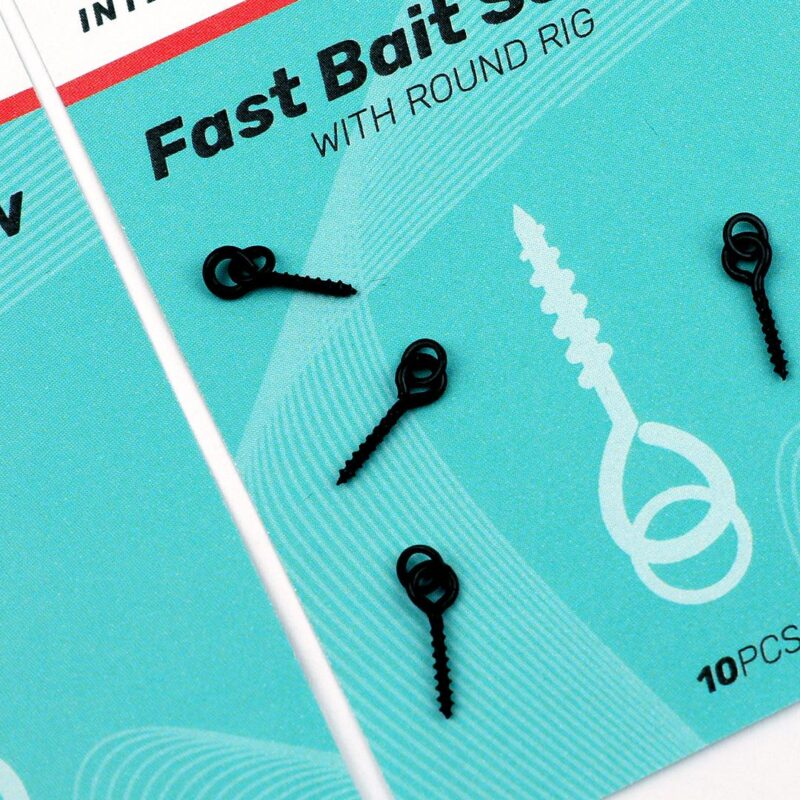SEDO Fast Bait Screw with Round Rig 4.4mm   CarpDoctor Leads