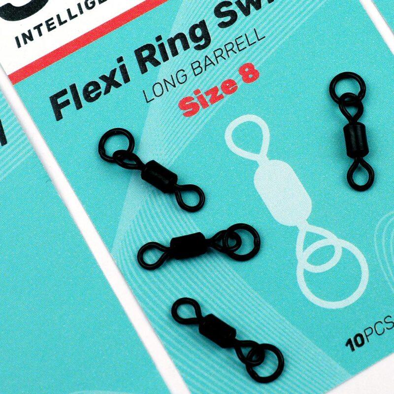 SEDO Flexi Ring Swivel Long Barrel size8 | CarpDoctor Leads