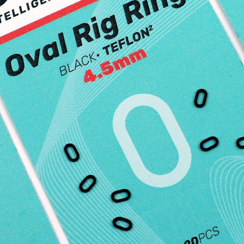 SEDO Oval Rig Ring Black 4.5mm   CarpDoctor Leads