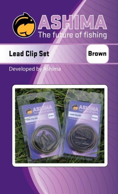 Ashima Lead Clip SET   CarpDoctor Leads