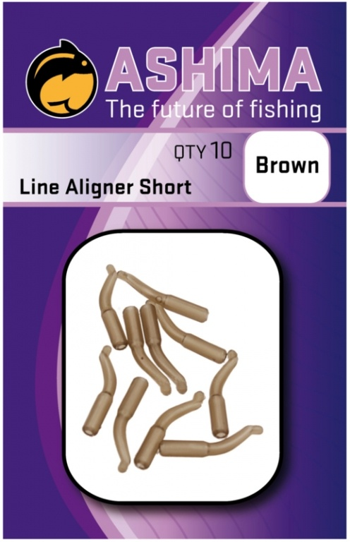Ashima Line liners short brown | CarpDoctor Leads