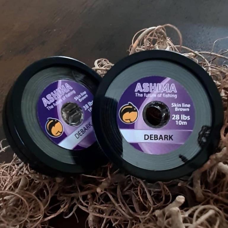 Ashima Debark Coated Hooklink 10m 38lbs | CarpDoctor Leads
