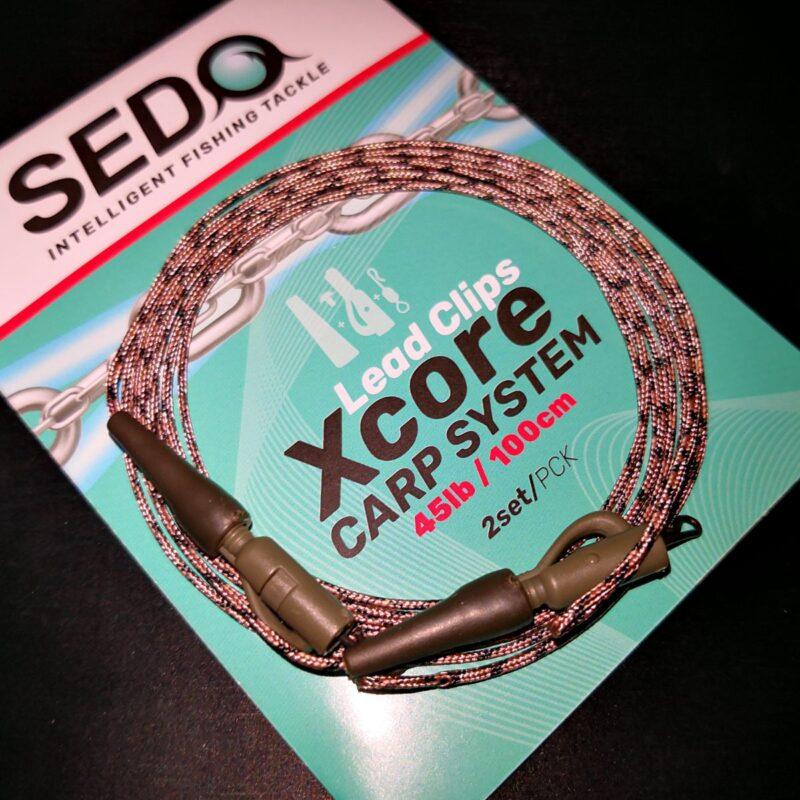 SEDO Lead Clips Xcore Carp System   CarpDoctor Leads