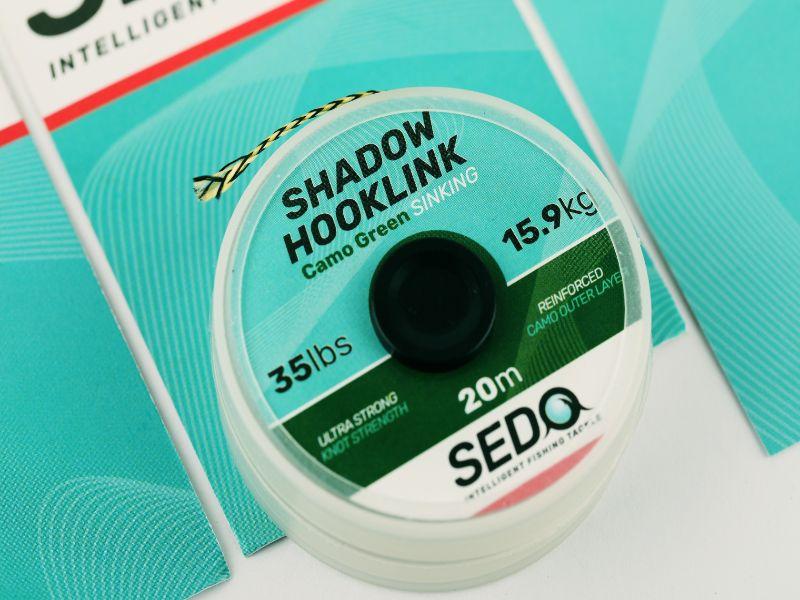 SEDO Shadow Hook-link Camo Green 35lbs | CarpDoctor Leads