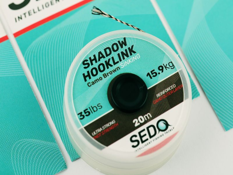SEDO Shadow Hook-link Camo Brown 25lbs | CarpDoctor Leads